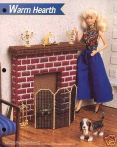 Plastic Canvas Barbie Fashion Doll Pattern by SureShopping on Etsy, $3.95