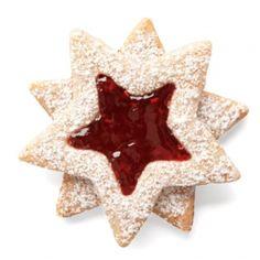 Kerstster met jam