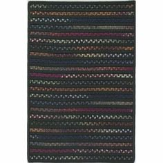 Colonial Mills TG65 Tailgate Dark Green/Multi Rug Rug Size: 11' x 14' by Colonial Mills. $1072.00. TG65R132X168S Rug Size: 11' x 14' Features: -Technique: Braided / Cablelock.-Material: 60pct Polypropylene/40pct Nylon.-Origin: United States.-Alternating solid and space dye rugs.-Reversible for twice the wear.-Fade Resistant.-Durable. Construction: -Construction: Handmade. Dimensions: -Pile height: 0.5''.-Overall Dimensions: 34-168'' Height x 22-132'' Width. Collection: -...