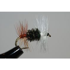 The fore and aft hackle on this Renegade creates a different light pattern from most drys. I use this as a change of pace dry when the trout refuse the regular flies. This is very effective on the tro