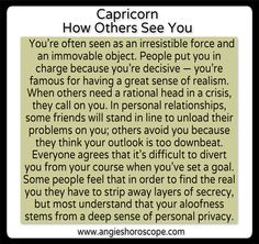 Capricorn - Personality | Angies Horoscope