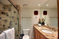 Kahana Reef #1380409 | Maui Hawaii Vacations Updated Bathroom with Walk In Shower