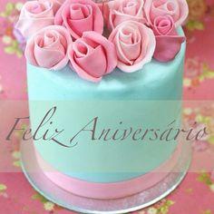 Feliz Aniversário Happy Birthday Quotes, Happy Birthday Greetings, Birthday Messages, Birthday Wishes, Happy Aniversary, Birthday Clips, Happy B Day, E Cards, Congratulations