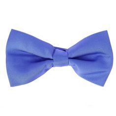 Noeud papillon bleu bleuet pré-noué - Tilbury