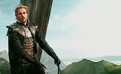 Fandral (gif) I love how you can see on his face how much he hates what he has to do.