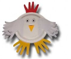 3D Construction Paper Art Crafts | images of in designs paper plate chicken mask craft wallpaper