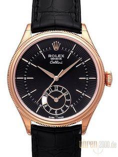 Rolex Cellini Dual Time 50525 Schwarz