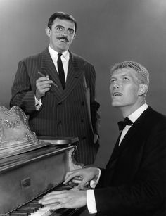Gomez and LurchJohn Astin and  Ted Cassidy