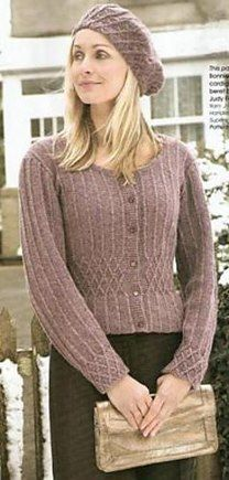 Bonnie   Clyde cardigan Sweater Knitting Patterns aa5e3a9da