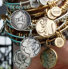 Disney Alex and Ani Ariel Rapunzel Mickey & More - Sparkly Ever After!!! I want them all!!