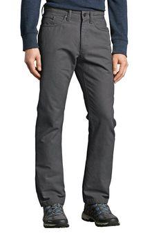 Eddie Bauer Mountain Hose - Straight Fit ab 44,95€. Mountain Jeans, Reine Baumwolle, Legerer Look, Mit verstärktem Saum, Passend für jeden Tag bei OTTO