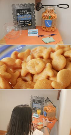 goldfish game | nautical baby shower | a couple of amateurs