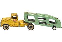 Tonka Truck w/ Trailer