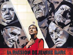 Carl Theodor Dreyer's The Passion of Joan of Arc (1928).