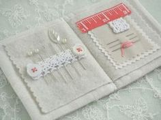 Linen, Pearl & CoralNeedlebook - Pretty by Hand