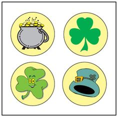 Incentive Stickers - St. Patrick's Theme