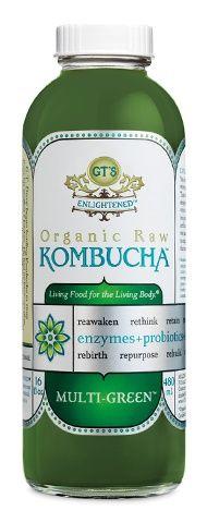 Organic Raw Kombucha Fermented Tea--Multi Green.  Tried this for the first time today. Sooooo yummy!