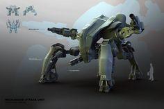 模塊化自主機甲單位|馬牧|通過deviantART的FrostKnight冰