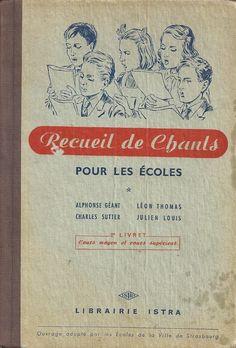 Recueil de chants pour les écoles, Cours Moyen (1953)