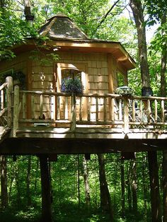 This cabin in rural Minnesota is high enough above the ground, its owners say, that it's even free of the state's famed summer mosquitoes. It starts at $150 a night.