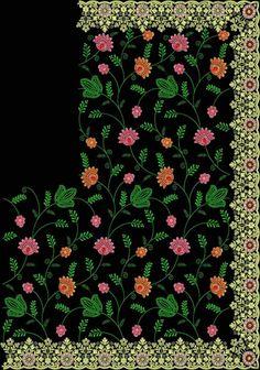 jaal cut-work c- pallu diamond test saree – Tedeex Embroidery Designs Free Download, Free Machine Embroidery Designs, Saree Embroidery Design, Embroidery Patterns, Textile Patterns, Textile Design, Textiles, Best Blouse Designs, Lace Saree