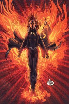 Jean Grey (Character)AKA Phoenix, Dark/:White Phoenix, Black Queen, Lady Gene Grey, Apocalypse, Marvel Girl  Marvel Comics
