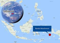 Geologists have for the first time seen and documented the Banda Detachment fault in eastern Indonesia - and worked out how it formed. Earth Quake, Davao, Earth Science, Mail Online, Daily Mail, First Time, Philippines, Geology