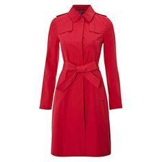 Buy Hobbs Imperial Trench Coat, Sorbet online at John Lewis