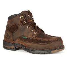 Georgia Boot Athens Men's 6-in. Waterproof Work Boots, Size: 9 Wide, Brown