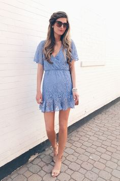 b70bcb2e9862a walmart dresses under $20 - blue lace dress on pinteresting plans  connecticut fashion blogger