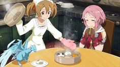 Pina, Sílica & Lisbeth - By Sword Art Online Kirito and Asuna ღ