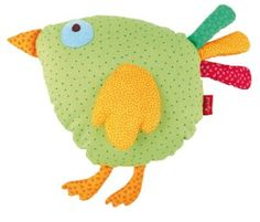 Kissen Vogel, this could be made with felt