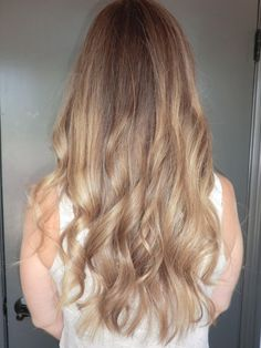 Light light brunette or dark dark blonde. Color by Kazumi Morton.