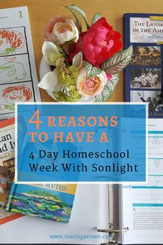 Homeschool families don't have to limit themselves to the same rules as traditional school, this applies to how many days we teach school as well as anything else! Here are 4 reasons we homeschool just 4 days each week.