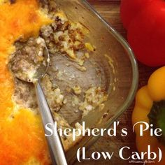 Shepherd's Pie ( Low carb) Dinner tonight, March 1, 2014 OMG that tasted so good, defiantly going to make this again, and even got some cauliflower, in my husband