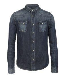 Lou Shirt, Men, Shirts, AllSaints Spitalfields