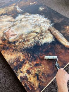 Canvas Print Limited Edition (Giclee Varnishing) Classical Art, Artist Gallery, Pet Portraits, Original Paintings, Canvas Prints, Fine Art, Stretcher Bars, Printing, Cow
