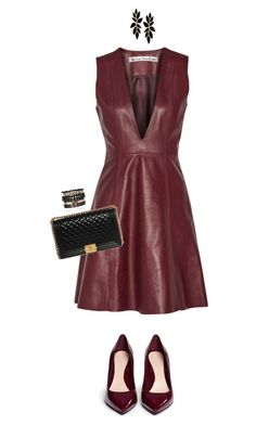 """""""Sans titre #3282"""" by mounia098 on Polyvore featuring mode, Alexander McQueen, Acne Studios, Chanel et Samantha Wills"""