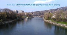 Ci troviamo nei pressi del Palavela nel quartiere Nizza-Millefonti di Torino. Qui inizia la via fluviale del Po di cui illustriamo le caratteristiche.