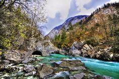 Mirando al mundo con sentimientos: Soča, el hermoso río de color turquesa