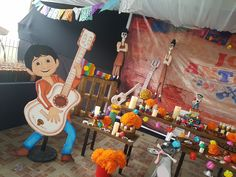 Decoración fiesta de cumpleaños #Coco
