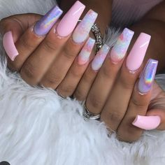 It's time to put your nails in a coffin! Well, not in a coffin but a coffin on your nails! Today we have 40 of the Best Coffin Nails for Cute Acrylic Nails, Acrylic Nail Designs, Nail Art Designs, Nails Yellow, Pink Nails, White Nails, Glitter Nails, Dope Nails, Nails On Fleek