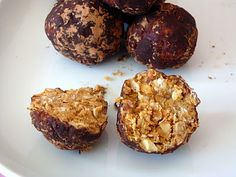 Healthy Peanut Butter Balls | Alida's Kitchen