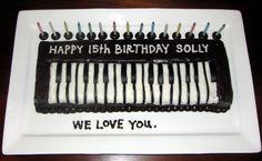 keyboard cake | Flickr - Photo Sharing!