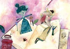 El libro de Collodi, pero… dónde está Pinocho? (ilustración de Flavia Sorrentino )