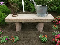 Reclaimed curbing stone for sale on SalvoWEB from Experienced Bricks in New York #reuse idea - bench