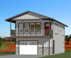 Garage Apartment Floor Plans, 2 Bedroom House Plans, Cabin House Plans, Garage Apartments, Prefab Garage With Apartment, Garage Apartment Interior, Above Garage Apartment, Metal Building Homes, Metal Homes