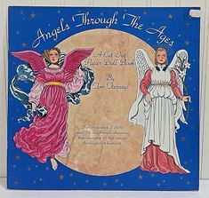 Set includes 2 dolls, and 16 costumes showing the images of the angel throughout history. Published in 1995 by Tom Tierney for B. Shackman & Co. Inc., and Printed in Hong Kong. Book has some minor rubbing on the cover from storage, corner creasing, and sticker residue in the upper-outside corner. | eBay!