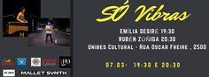 Emília Desiré e Rubén Zúñiga - #sovibras dentro São Paulo, Unibes Cultural, Terça, 07. Março 2017 - Dia 7 na programação do #sovibras, abrindo a noite a Emilia Desiré com **** Acustico de las Ameri...