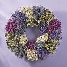 Lavender Bouquet Wreath  $.